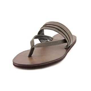 OTBT Crestview Open Toe Leather Flip Flop Sandal