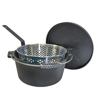 Link to Bayou Classic® 14-qt Cast Iron Dutch Oven with Lid Similar Items in Grills & Outdoor Cooking