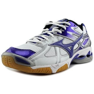 Mizuno Wave Bolt 4   Round Toe Synthetic  Sneakers