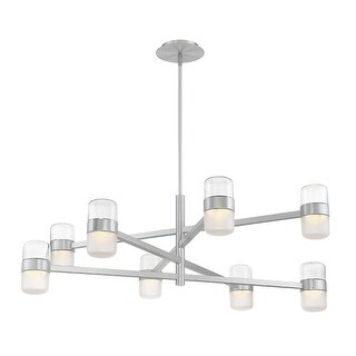 """Modern Forms PD-25740 Jazz 8-Light 40"""" Wide Integrated LED Chandelier - N/A"""