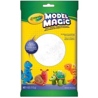 Crayola BIN4401BN 4 oz Model Magic,White - Pack of 6