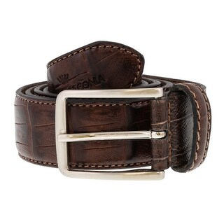 Daniel Giaconia Y328 MORO Brown Leather Mens Belt