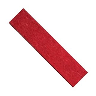 Pacon PACAC10140BN Red Crepe Paper, Pack of 12