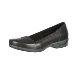 4EurSole Casual Shoes Womens Soprano Low Wedge Black RKH129