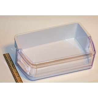 NEW OEM Samsung Refrigerator Door Bin Basket Shelf Originally Shipped With RFG297HDBP/XAA, RFG297HDPN