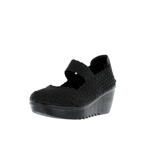 Bernie Mev Womens Lulia Casual Wedge Shoes