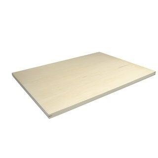 Alvin Metal Edge Wood Drawing Board, 18 X 24 in, 3/4 in Thickness