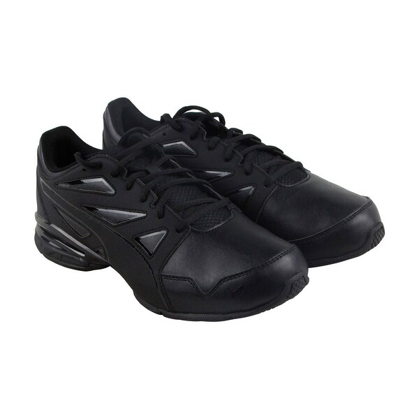 Puma Tazon Modern Fracture Mens Black Synthetic Athletic Lace Up Training Shoes