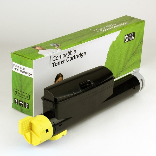 Value Brand replacement for Xerox Phaser 6360 Yellow Toner (12,000 Yield)