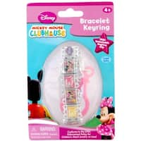 Disney Minnie Mouse Portrait Bracelet Key Ring - Multi