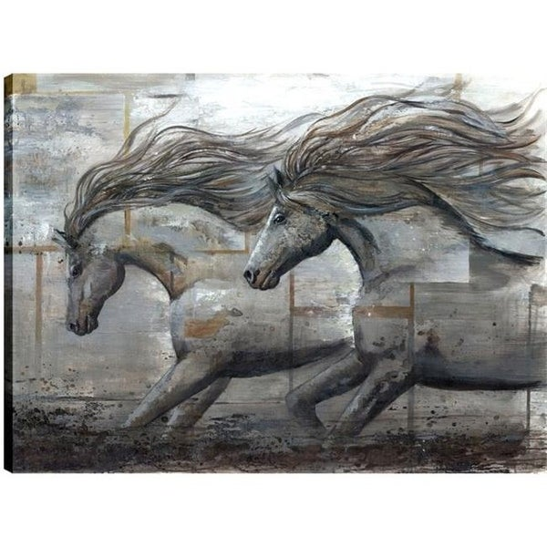 Art Maison Canada Horse Animal Fresh Printed Canvas Wall Free Shipping Today 24799177