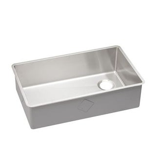 "Elkay ECTRU30179R 31-1/2"" Undermount Single Basin 18-Gauge Stainless Steel Kitchen Sink with Sound Guard?"
