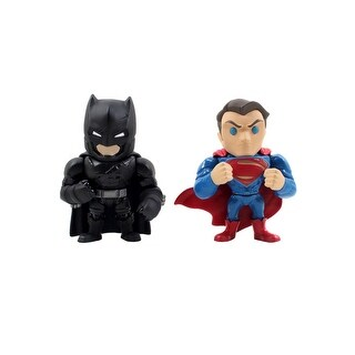 "Batman v Superman 4"" Superman & Armor Batman Alternative Twin Pack"