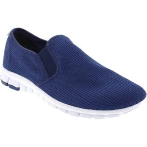 Deer Stags Men's Wino Mesh Slip-On Navy/White