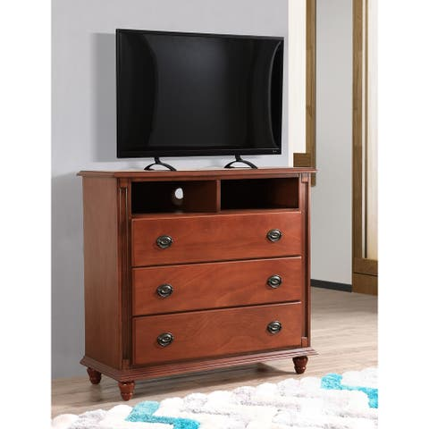 Summit Media Solid Wood Chest