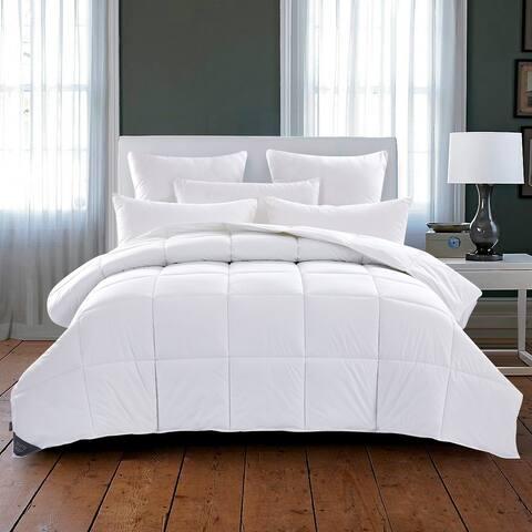 Summer Hot Sleeper Lightweight 75 Percent Down Duvet/Comforter with Cotton Cover