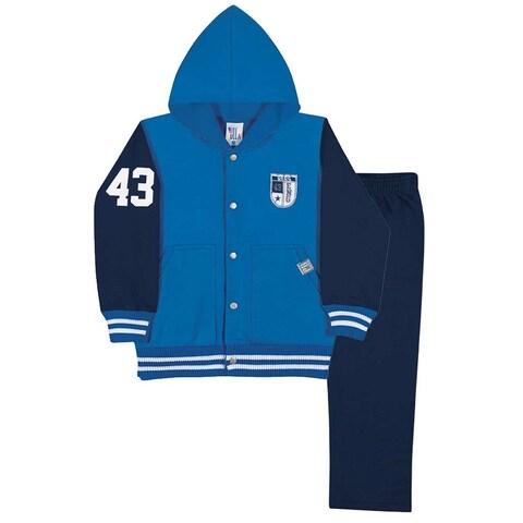Toddler Boy Hoodie Jacket and Pants 2-piece Set Pulla Bulla Sizes 1-3 years