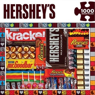 "Jigsaw Puzzle 1000 Pieces 19.25""X26.75""-Hershey's Matrix"