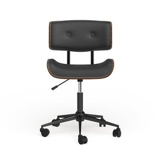 Link to Carson Carrington Leksand Simple Mid-century Modern Office Chair - N/A Similar Items in Home Office Furniture