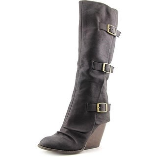 Fergalicious Epic Women Round Toe Synthetic Knee High Boot
