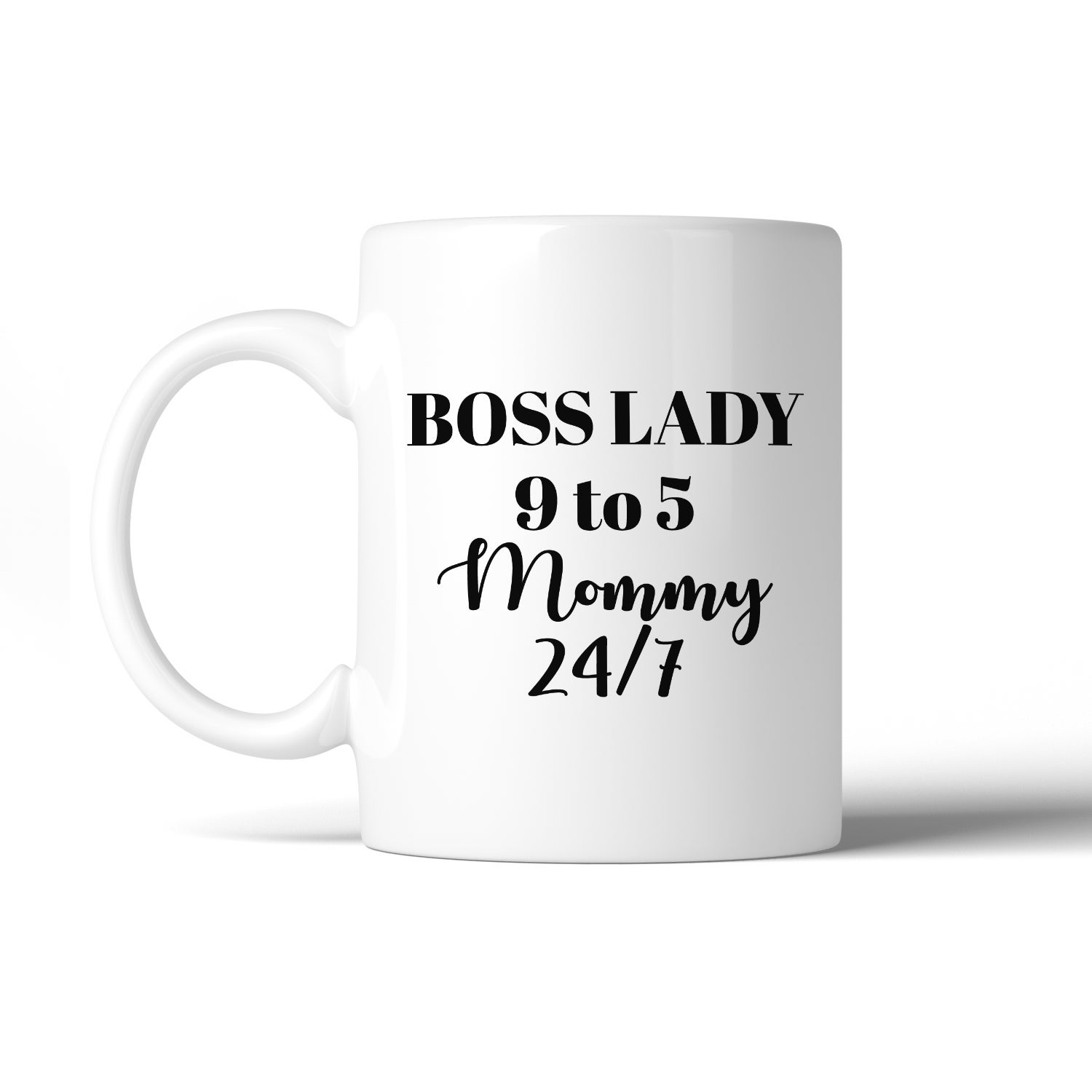 Details about  /Boss Lady Mommy Gray Hoodie Mothers Day Funny Gift Ideas For Wife