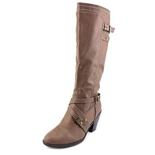 Rialto Madyson Round Toe Synthetic Knee High Boot