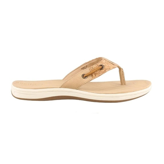 Sperry Womens Seabrook Surf Leather Open Toe Casual
