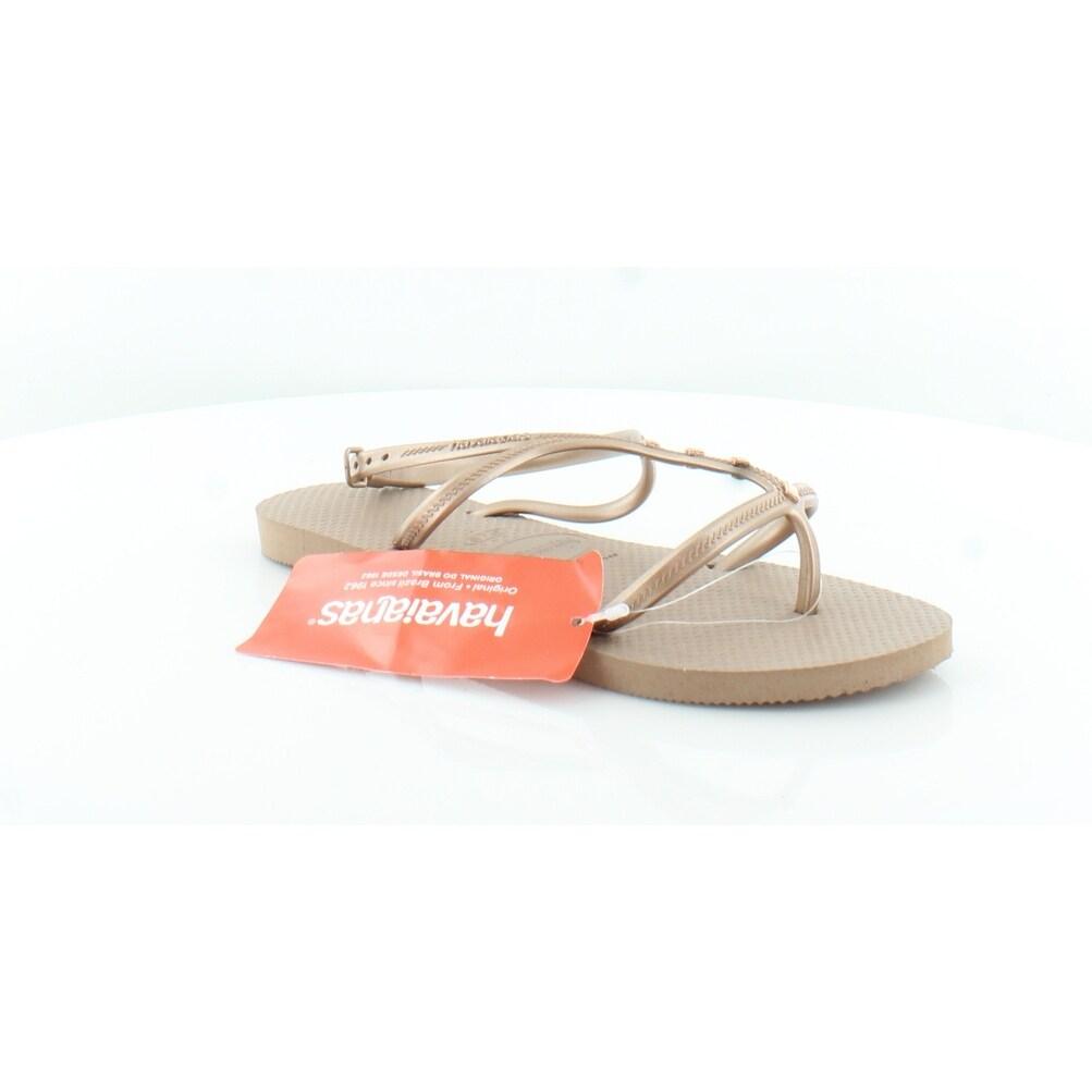 Havaianas Allure Maxi Women's Sandals Rose Gold