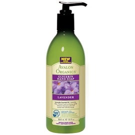 Avalon Organics Glycerin Hand Soap, Lavender 12 oz