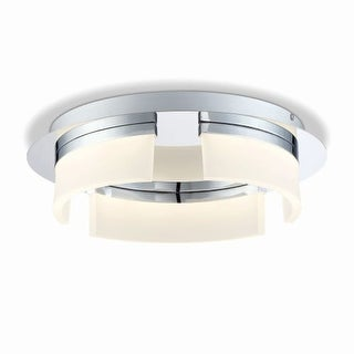 "Eurofase Lighting 31799 Bria Single Light 15"" Wide Integrated LED Flush Mount Ceiling Fixture"