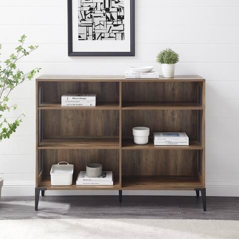 "Carbon Loft 52"" Mesh Side Panel Bookshelf"