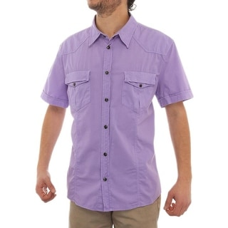 Versace Short Sleeve Collared Dress Button Up Men Regular Dress Button