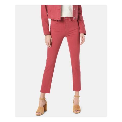 JOE'S Womens Red Straight leg Jeans Size 26 Waist