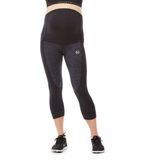 FLEX Maternity Active 3/4 Legging  with fold over panel