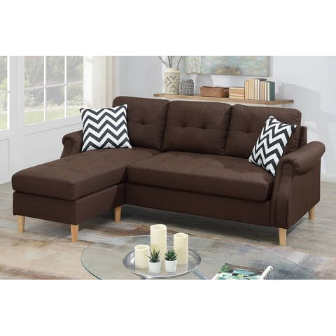 Reversible Sectional Chaise Sofa