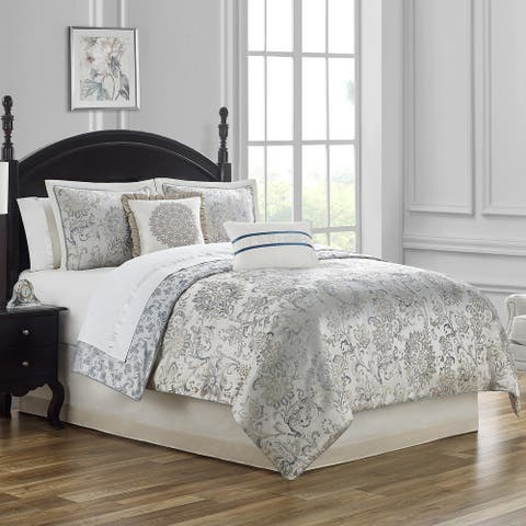 Waterford Lynne Reversible 4 PC Comforter Set