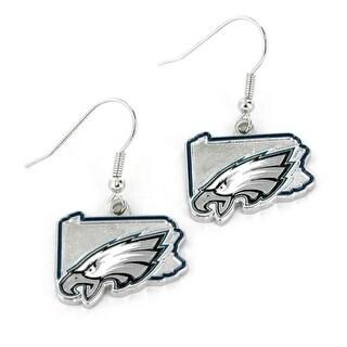 Philadelphia Eagles Earrings State Design