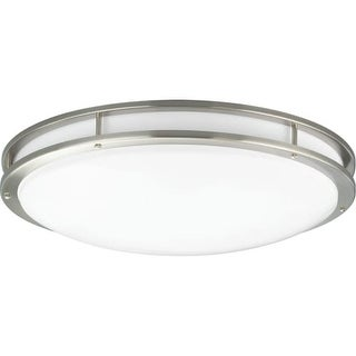 """Progress Lighting P7252-LED LED CTC COMM Light 31-1/4"""" Wide Integrated LED Flush Mount Ceiling Fixture with Acrylic Diffuser"""