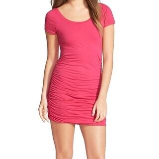 Splendid NEW Pink Rasberry Women's Size Small S Stretch Bodycon Dress