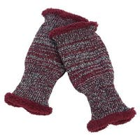 Mad Style  Sherpa Blended Knit Boot Cuff