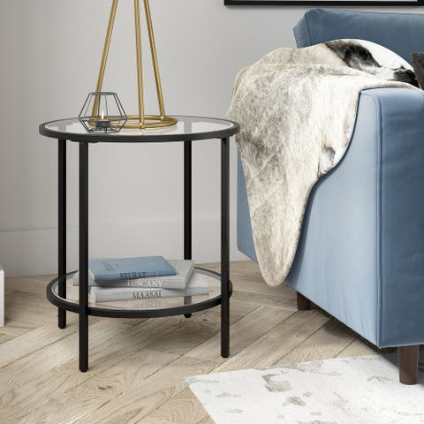 Sivil Round Side Table