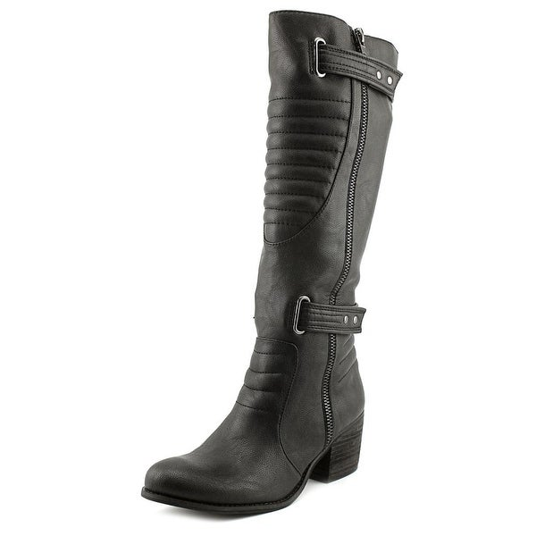 Carlos by Carlos Santana Vesta Round Toe Synthetic Knee High Boot