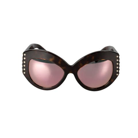 Valentino VA4055 50024Z 55 Oversized Sunglasses