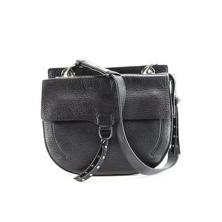 Rebecca Minkoff NEW Jane Saddle Black Crossbody Leather Handbag Purse
