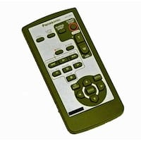 OEM Panasonic Remote Control Originally Shipped With: PVGS35, PV-GS35, AGDVC20, AG-DVC20