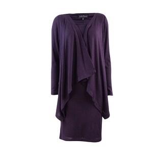 Jessica Howard Women's Ribbed Knit Dress - 10