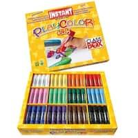 Jack Richeson Playcolor Solid Tempera Paints, Assorted Matte Colors, Set of 144