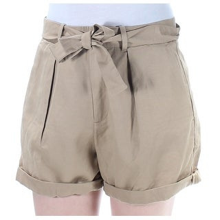 Womens Brown Casual Short Size 10