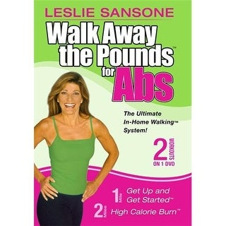 Leslie Sansone: Walk Away The Pounds For Abs 1 & 2 Mile  DVD Movie 2003