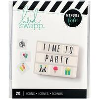 Heidi Swapp Lightbox Inserts 20/Pkg-Party